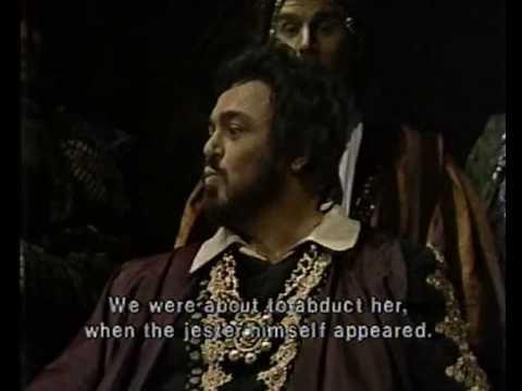 Luciano Pavarotti - Duca duca... Possente amor - Live 1981