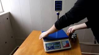 Весы ГАСТРОНОМ со стойкой и без. С LED и LCD дисплеями.(Обзорное видео про электронные весы