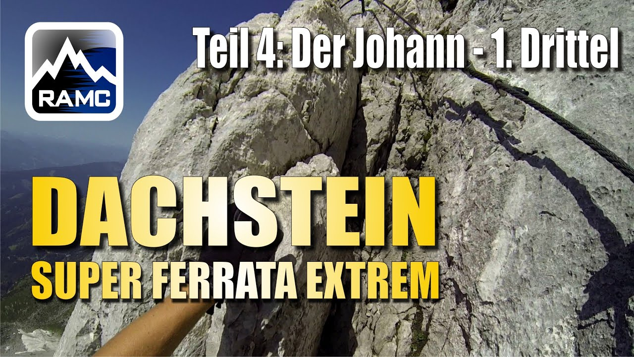 Klettersteig Johann Dachstein : Klettersteige dachstein #4 johann klettersteig erster teil