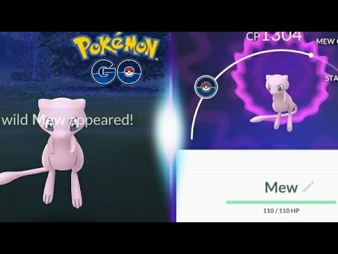 MEW WAS FINALLY CAUGHT! QUICK GUIDE ON HOW TO CATCH MEW - POKEMON GO