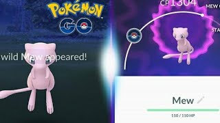MEW WAS FINALLY CAUGHT QUICK GUIDE ON HOW TO CATCH MEW - POKEMON GO