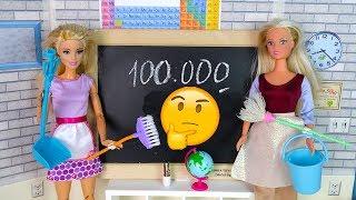 Как ❤ Учительница ❤ стала Уборщицей  Мультик #Барби Про Школу Школа Куклы для девочек