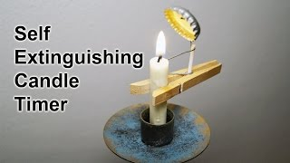 How to build a Homemade Candle Timer