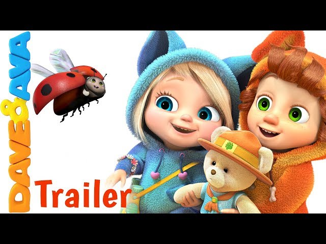 🐻 The Bear Went Over the Mountain – Trailer | Nursery Rhymes and Kids Songs from Dave and Ava 🐻