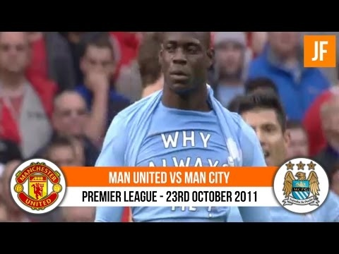 Manchester United 1-6 Manchester City [ 2011 / 2012 ]