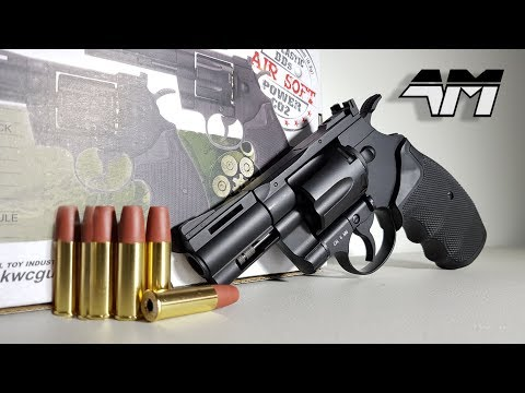 KWC MODEL 357 / Airsoft Revolver Unboxing & Review