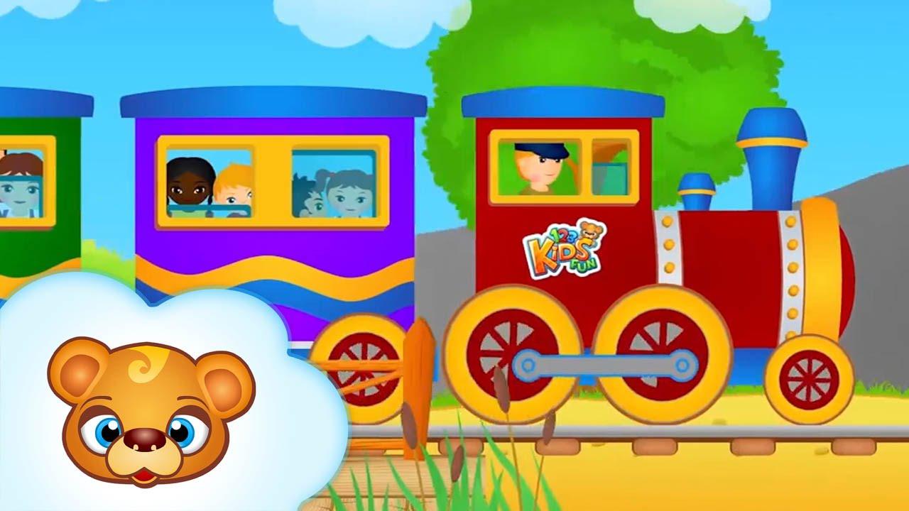 Piosenki dla dzieci Jedzie pociąg z daleka RosNutki