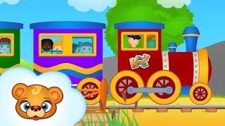 Piosenki dla dzieci - Jedzie pociąg z daleka - RosNutki