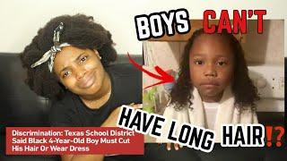 """CUT HIS HAIR OR WEAR A DRESS!"" SUPERINTENDENT MAKES FUN OF 4 YEAR OLD BOY'S NATURALHAIR!"