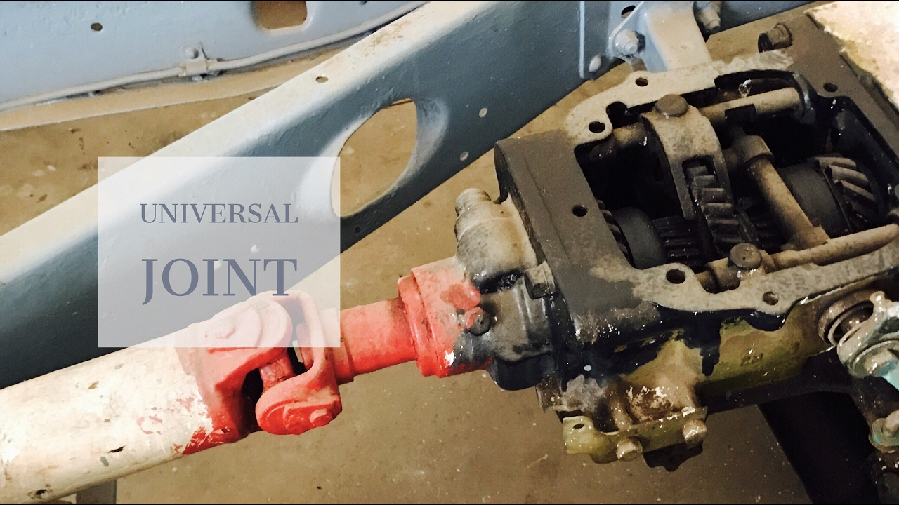 Universal joint Vehicle propeller shaft Drive(Quickly!)🔥
