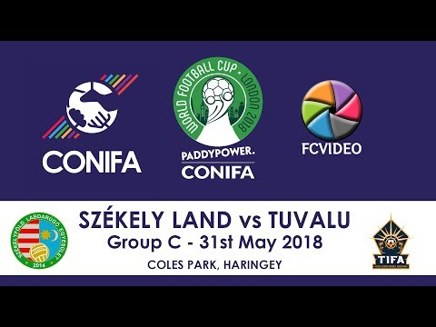 CONIFA World Football Cup 2018 - Székely Land v Tuvalu