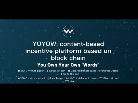 Could YOYOW be the next big coin?