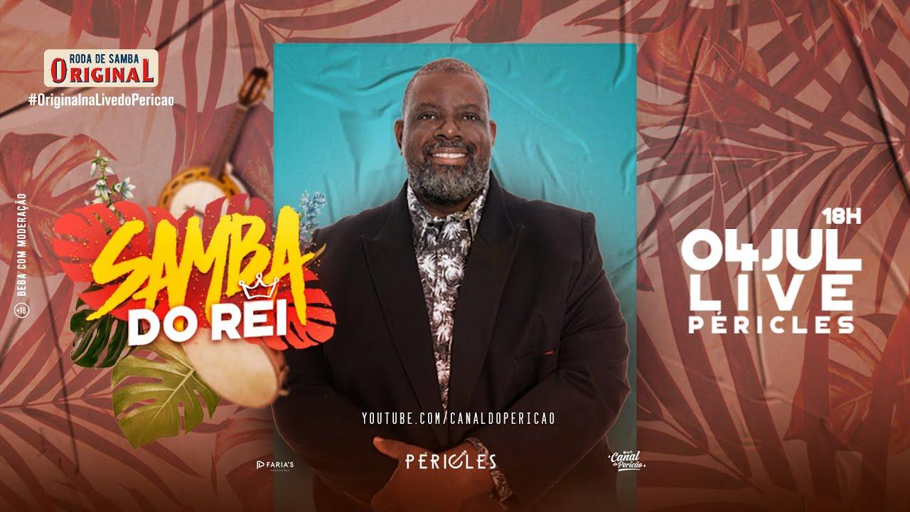 Live Péricles | Samba do Rei - #FiqueEmCasa e cante #Comigo no #SambaDoRei