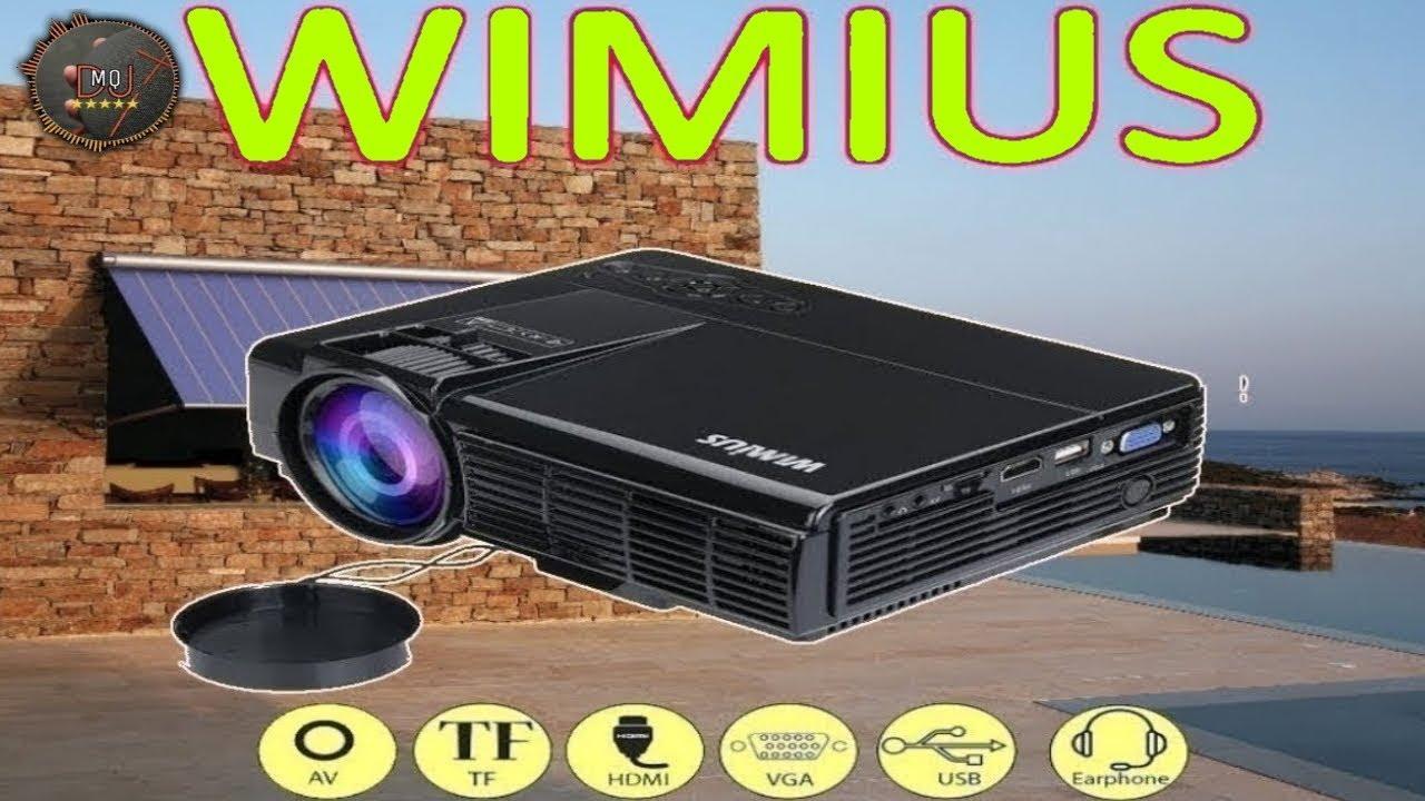 Proiettore Wimius Supporta Il 1080p Full Hd Recensione Ita