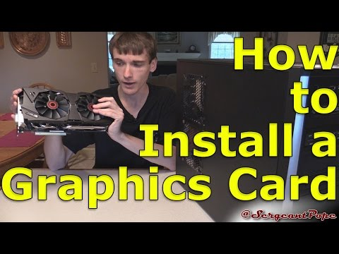How to install a graphics card - GET INTO PC GAMING EASY!