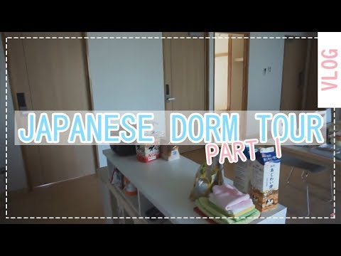 JAPANESE DORM ROOM TOUR|Okayama University|Part 1