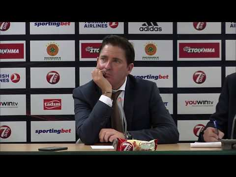 Playoff Game 2 Euroleague Press Conference: Panathinaikos Superfoods Athens vs. Real Madrid