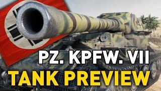 World of Tanks || Pz. Kpfr. VII - Tank Preview