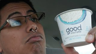 First Time Tasting Cottage Cheese
