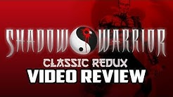 Shadow Warrior Classic Redux PC Game Review