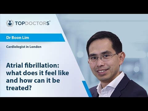 Atrial fibrillation: what does it feel like and how can it be treated?