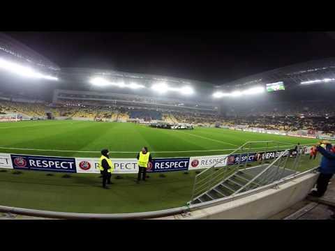 UEFA Europa League Shakhtar Donetsk 4:0 Konyaspor GOPRO HERO 4 BLACK 24 11 2016