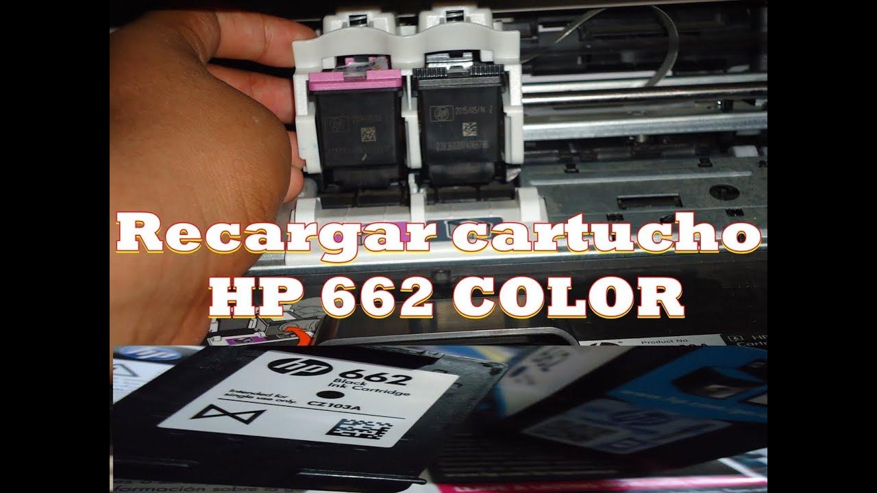 Como recargar cartucho hp 662 color en espa ol youtube - Como se pone el parquet ...