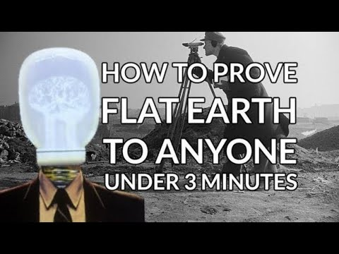 How to prove flat earth to anyone under 3 Minutes ► The Real Globebuster thumbnail
