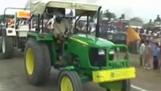 Repeat youtube video Swaraj mahla 855 vs Johndeer 5055 E (Full video)
