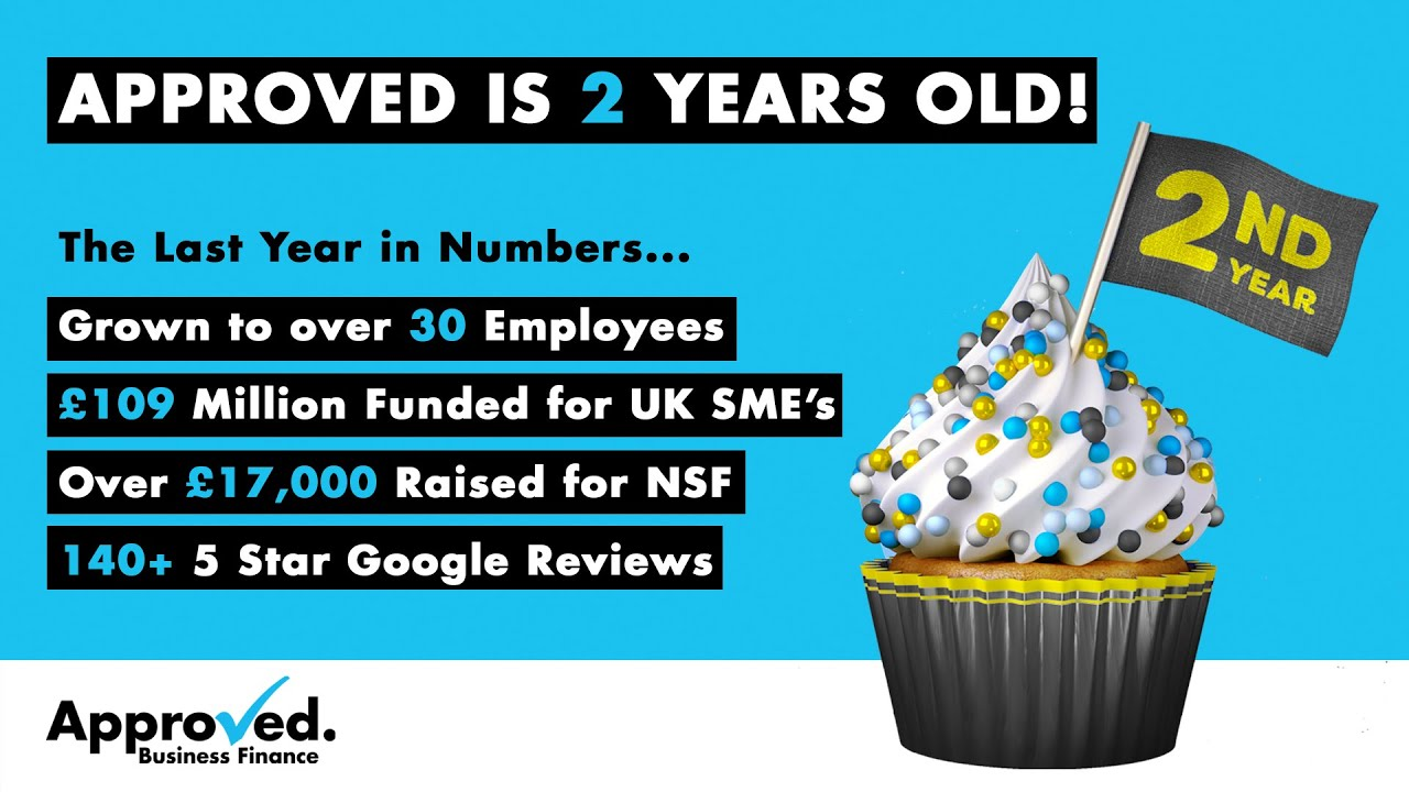 🎉Approved Business Finance is 2 Years Old!🎉