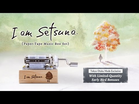 """I am Setsuna"" Paper-Tape Music Box (Special Package Edition)"