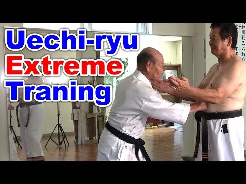 Uechi-ryu extreme trainig | English sub | Nakahodo&Yamashiro sensei | Okinawa Traditional Karate