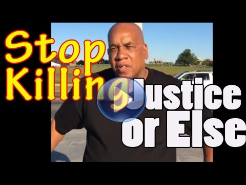 Stop Black-on-Black violence in Los Angeles, Justice or Else