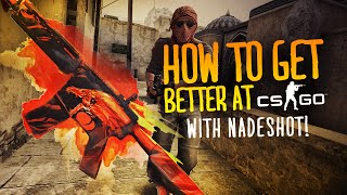 HOW TO GET BETTER AT CS:GO w/ Nade (AIMING & CROSSHAIRS)