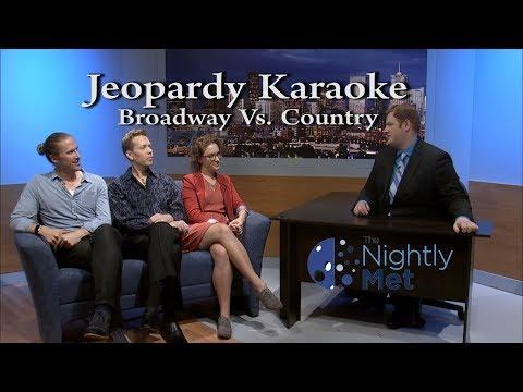 Eugene vs. Avery - Karaoke Jeopardy