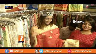 Miss Hyderabad Ashima Ghouta Inaugurates Haat Fashion Lifestyle & Exhibition | Metro Colours | iNews
