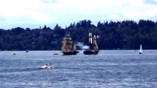 Lady Washington Hawaiian Cheiftain  Labor Day 2015 Seattle WA