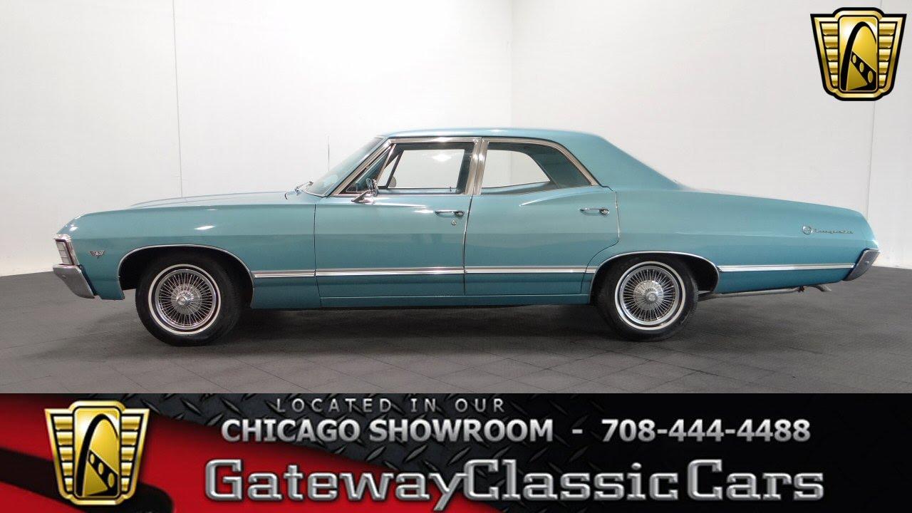 1967 Chevrolet Impala Gateway Classic Cars Chicago #1042 - YouTube