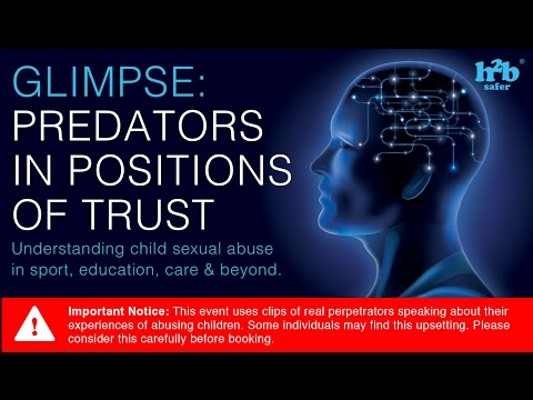 Glimpse 2017: Predators in Positions of Trust, Promo