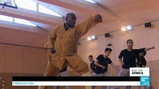meet dominique saatenang the first african shaolin monk