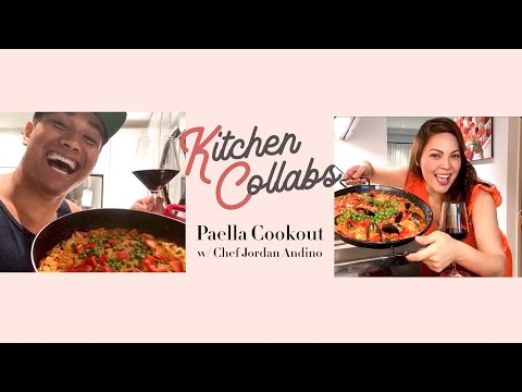 Kitchen Collabs: PAELLA Cookout With Chef Jordan Andino