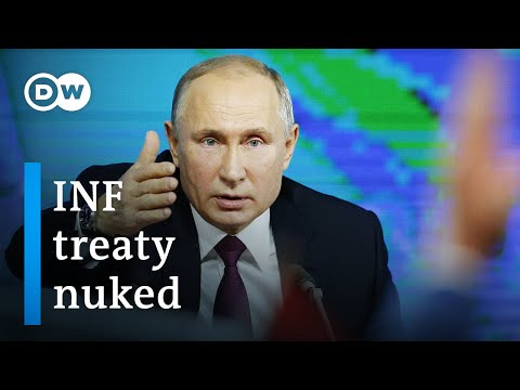 US Walks Away From INF Arms Control Treaty | DW News