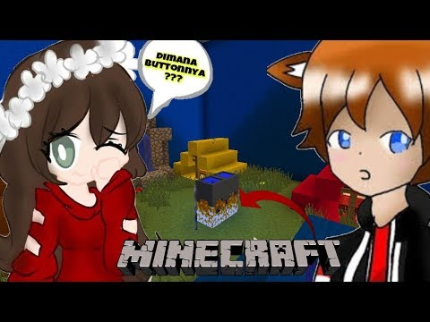 BUTTONNYA EASY GAK TUH   - MINECRAFT FIND THE BUTTON INDONESIA