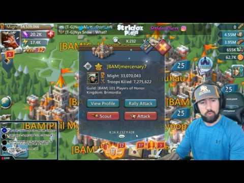 Lords Mobile MONSTER HUNT GUIDE   HITTING A MONSTER 80 TIMES FOR GUILD FEST   Livestream!!