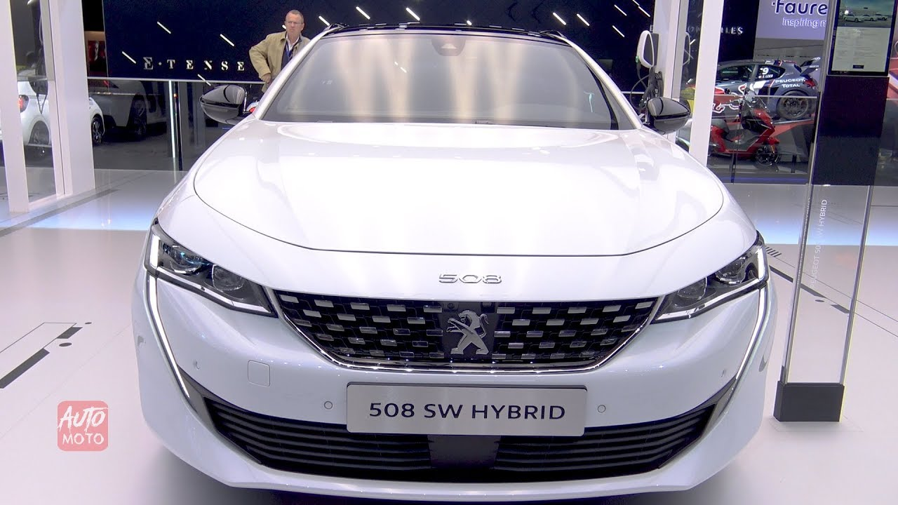 2019 Peugeot 508 Sw Hybrid Exterior And Interior Walkaround 2018