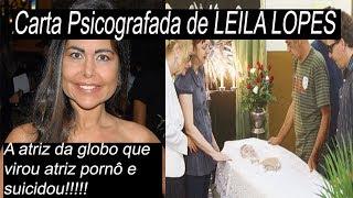 Carta Psicografada de Leila Lopes a  atriz  da globo !