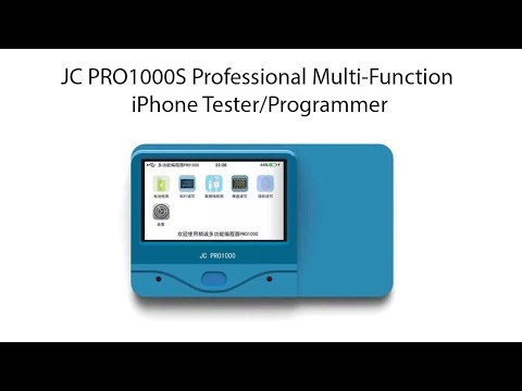 JC PRO1000S Professional Multi-Function iPhone Tester/Programmer