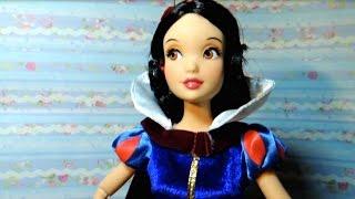 Обзор Куклы Белоснежка. Принцессы Дисней. Видео для девочек