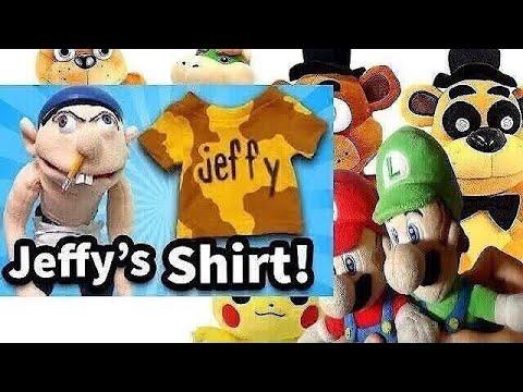 881becc645f0 SML Movie: Jeffy's Shirt! Mario And Luigi Reaction  (Freddy,Fred,GoldenFreddy,Pikachu,Jr)