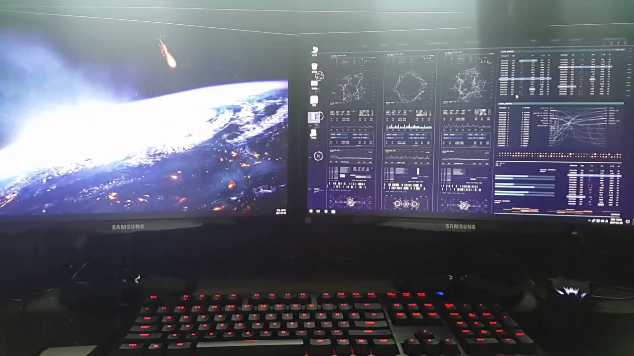Wallpaper Engine Test Dual Monitor